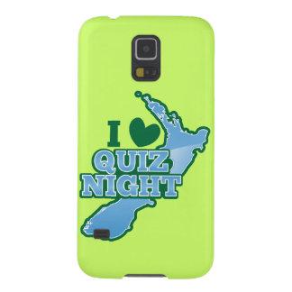 私はクイズ夜を愛します! ニュージーランドの地図 GALAXY S5 ケース