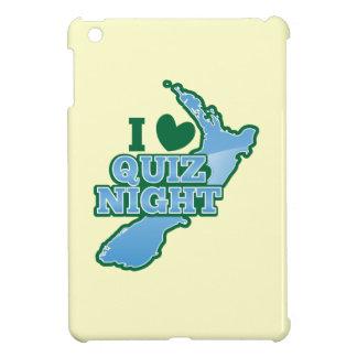 私はクイズ夜を愛します! ニュージーランドの地図 iPad MINIカバー