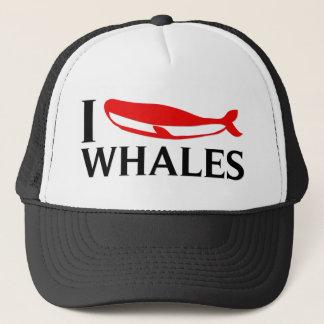 私はクジラを愛します キャップ