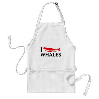 私はクジラを愛します スタンダードエプロン