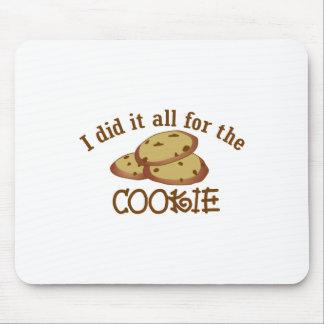 私はクッキーのためのそれをすべてしました マウスパッド