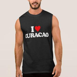 私はクラサオ島を愛します 袖なしシャツ