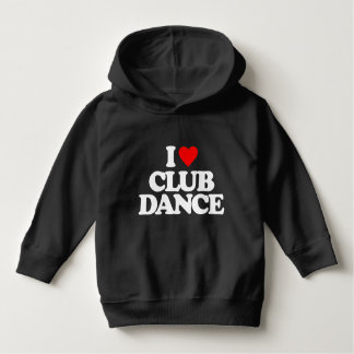 私はクラブダンスを愛します パーカ