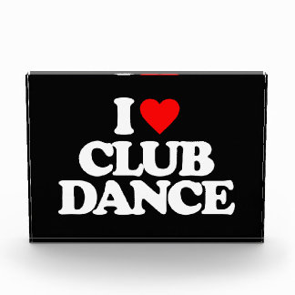 私はクラブダンスを愛します 表彰盾