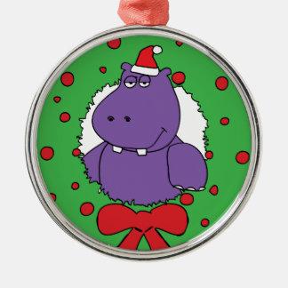 私はクリスマスのためのカバがほしいと思います メタルオーナメント