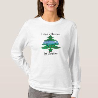 私はクリスマスのためのマナティーがほしいと思います Tシャツ