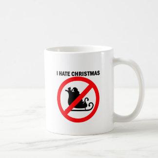 私はクリスマスを憎みます コーヒーマグカップ