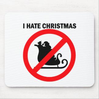 私はクリスマスを憎みます マウスパッド