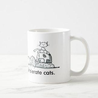 私はクリスDesatoffによって猫のコーヒー・マグを容認します コーヒーマグカップ