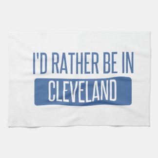 私はクリーブランドオハイオ州にむしろいます キッチンタオル