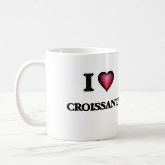 私はクロワッサンを愛します コーヒーマグカップ