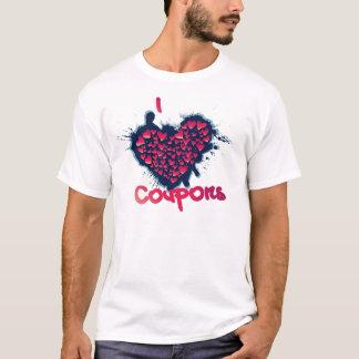 私はクーポンを愛します Tシャツ
