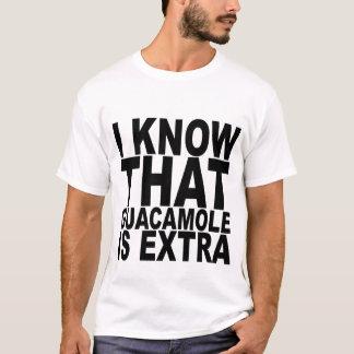 私はグアカモーレが余分Tシャツであることがわかっています Tシャツ