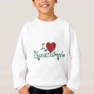 私はグアカモーレを愛します スウェットシャツ