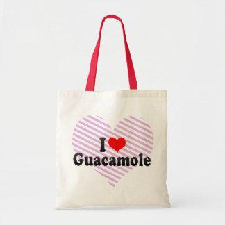 私はグアカモーレを愛します トートバッグ