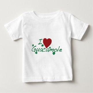 私はグアカモーレを愛します ベビーTシャツ