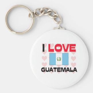 私はグアテマラを愛します キーホルダー