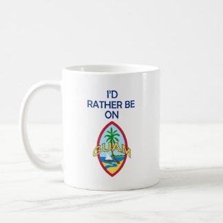 私はグアムにむしろあります コーヒーマグカップ