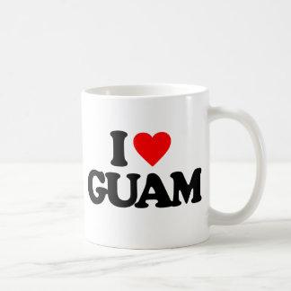 私はグアムを愛します コーヒーマグカップ
