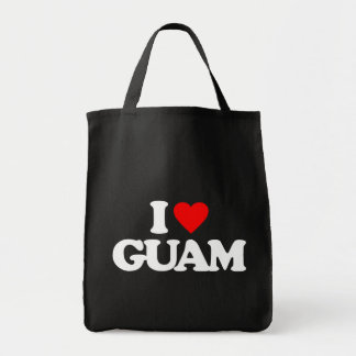 私はグアムを愛します トートバッグ