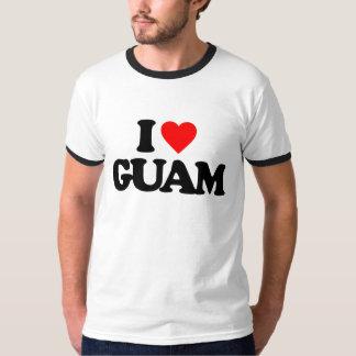 私はグアムを愛します Tシャツ