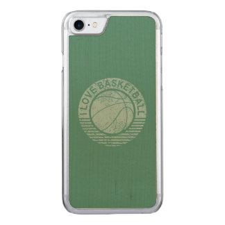 私はグランジなバスケットボールを愛します CARVED iPhone 8/7 ケース
