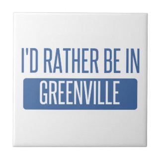 私はグリーンヴィルSCにむしろあります タイル
