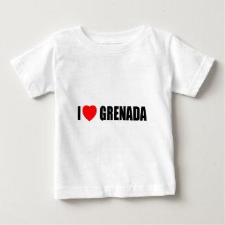 私はグレナダを愛します ベビーTシャツ