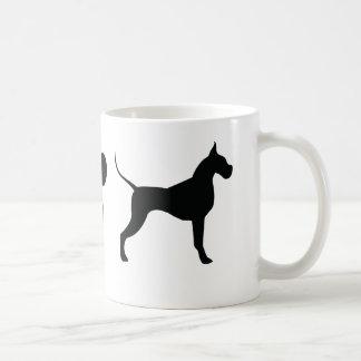 私はグレートデーンを愛します! コーヒーマグカップ