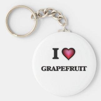 私はグレープフルーツを愛します キーホルダー