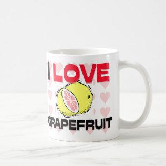 私はグレープフルーツを愛します コーヒーマグカップ