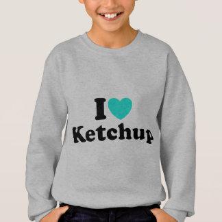 私はケチャップを愛します スウェットシャツ