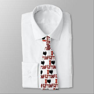 私はケチャップを愛します ネクタイ
