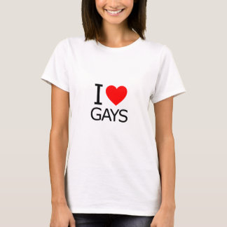 私はゲイを愛します Tシャツ