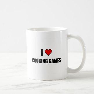 私はゲームを調理することを愛します コーヒーマグカップ
