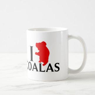 私はコアラを愛します コーヒーマグカップ
