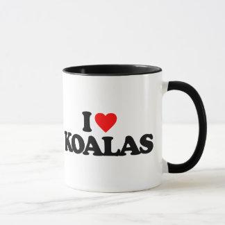 私はコアラを愛します マグカップ