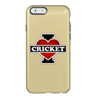 私はコオロギを愛します INCIPIO FEATHER SHINE iPhone 6ケース
