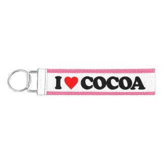 私はココアを愛します リストバンドキーホルダー