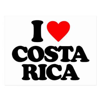私はコスタリカを愛します ポストカード
