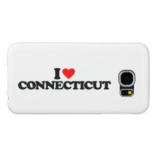 私はコネチカットを愛します SAMSUNG GALAXY S6 ケース