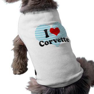 私はコルベットを愛します ペット服