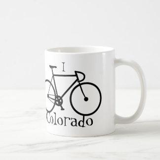 私はコロラド州のコーヒー・マグを自転車に乗ります コーヒーマグカップ