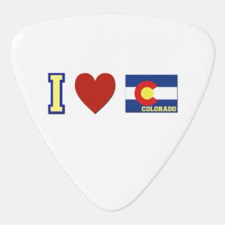 私はコロラド州を愛します ギターピック