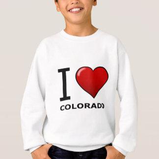 私はコロラド州を愛します スウェットシャツ