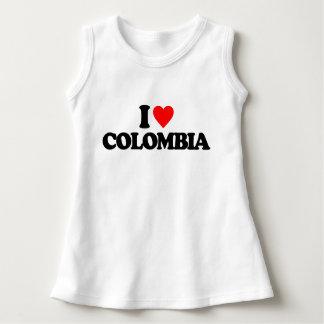 私はコロンビアを愛します ドレス
