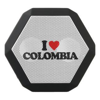 私はコロンビアを愛します ブラックBluetoothスピーカー