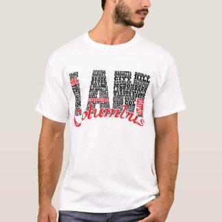 私はコロンブス都市です Tシャツ