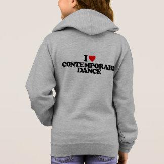 私はコンテンポラリーなダンスを愛します スウェットシャツ