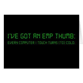 私はコンピュータの近くで許可されません カード